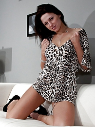 Leopard Dress pictures at lingerie-mania.com