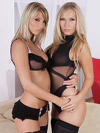 Stunning blonde lesbians licking sweet pussy out on couch pictures at find-best-hardcore.com