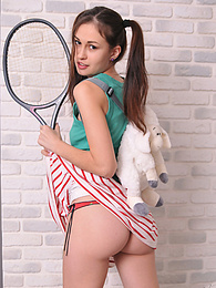 Simplicity made from this adorable chick a pure sensual goddess. Small tits, round butt, wide smile. Just fantastic. pictures at dailyadult.info