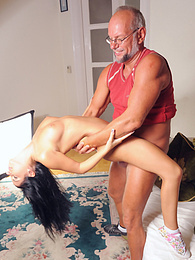 Hot Jessyka enjoys her special anal treatment by a fat cock pictures at freekilomovies.com