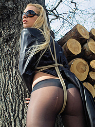 Horny Angelina Love makes some kinky experiences with BSDM pictures at find-best-panties.com