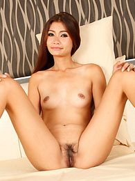 Horny Thai babe joins tourist for strip-down and fuck on camera pictures at find-best-babes.com