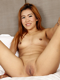 Stunning and fun Thai redhead fucks strange white tourist in his room pictures at freekilosex.com
