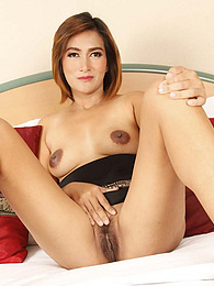 Stunning and shy Thai MILF sucks and strokes newcummer's white cock on camera pictures at find-best-babes.com