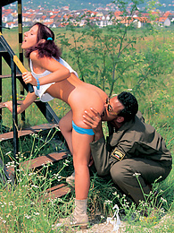 Long Live the Loving Army! On Manoeuvres With Izabella pictures at kilovideos.com