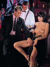 Katja Love, This Rich Bitch Loves Getting Her Hands Dirty pictures at dailyadult.info