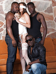 Swiss Politician's Wife Caroline Tosca's Gets a Gangbang pictures at freekilosex.com
