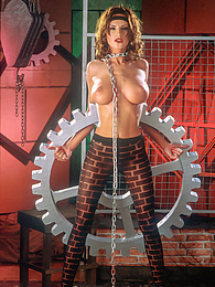 Stunning Wanda Curtis Works Hard In The Foundry with a Trio pictures at find-best-tits.com