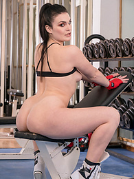 Trainer on the Ropes in Anal Trio with Two Fitness Fanatics pictures at freekiloclips.com