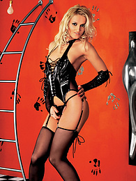 Stunning Blonde Petra Has some hot BDSM Sex in High Heels pictures at kilogirls.com