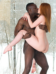 Young Redhead Ella Hughes Tastes Black Meat and Hot Cum pictures at kilopills.com