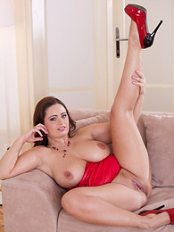 Titfuck and Creampie for Buxom Czech Sirale. What a woman! pictures at freekiloclips.com