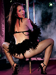 Stunning Adrienne Klass, More than a Showgirl. Queen of DP pictures at reflexxx.net