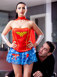 Gorgeous Wonder Woman Nelly Kent has appointment for anal pictures at freekilosex.com
