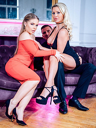 Alessandra Jane and Sienna Day in an anal sex threesome pictures at find-best-pussy.com