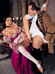 Hardcore session in the castle ends with a cumshot facial pictures at dailyadult.info