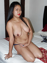 Asian tits this big always attract a free trike ride in Angeles City pictures at kilopills.com