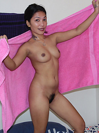 Hairy Pussy Filipina goes for WILD ride on white Texas cock pictures