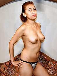 Amateur Pinay with long legs gets hot load of cum on her chest pictures at nastyadult.info