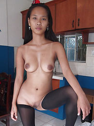 Beautiful young Filipina pussy creampied after street meeting pictures at freekilomovies.com