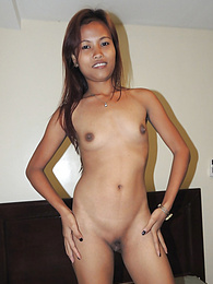 Dark-skinned Filipina beauty picked up on a beach and fucked on cam pictures at find-best-panties.com