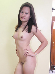 Sexy Filipina gets pussy creamed by male tourist pictures at freekiloclips.com