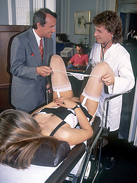 Visit to the gynecologist ends in a gangbang cumshot facial pictures at find-best-tits.com