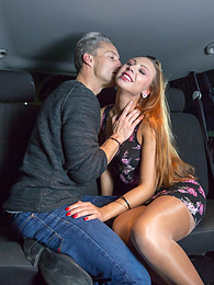 Fuck in the backseat of a taxi is Ornella Morgan's debut pictures