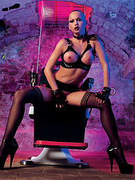 Cristina shows her dominatrix habilities in this fetish fuck pictures at freekilosex.com