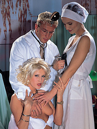 Scandal, Katia Love & Martina Mercedes fuck the Doctor! pictures at find-best-lesbians.com