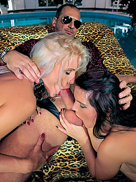 Jennifer Dark & Kathy Anderson, The Hot Pair That Share pictures at kilogirls.com