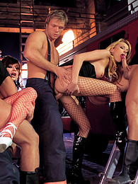 Horny sluts fucks all the fire department and enjoys hard DP pictures at dailyadult.info