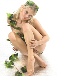 Excellent photos of nude divine blonde with hot curves posing with a flower pictures at dailyadult.info