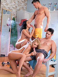 Triggering a whole group's sexual experience at the gym pictures at dailyadult.info