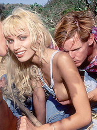 Gorgeous Anita Blond, Sexual Rebellion on the Animal Farm pictures at freekiloclips.com