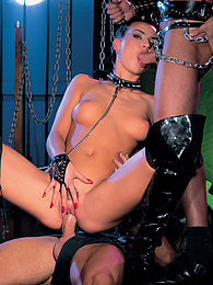 Katja is a submisive whore who loves to be treated rough pictures at freekilomovies.com
