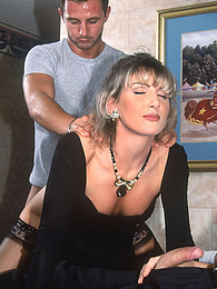 Katia meets with four guys in a hotel and lets them run wild pictures at find-best-mature.com