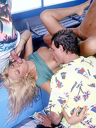 Nadine & Imene on the Fuck Boat Share Cocks and Swap Cum pictures at find-best-lesbians.com