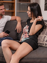 Sexy MILF Allatra Hot fucks her next door neighbor pictures at freekilosex.com