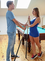 Sexy Milla Fox gets her pussy fucked hard on the billards table pictures at kilopics.net
