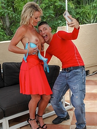 Sexy MILF Sydney Hail gets fucked by a younger stud pictures at find-best-hardcore.com