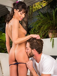 Brunette MILF Lexi Foxy catches and then fucks her masturbating peeping tom pictures at dailyadult.info