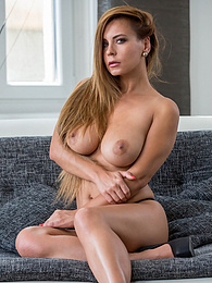 Busty cougar Dorothy Black fingers her ass and pussy pictures