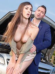 Cheeky Lina Luxa Enjoys Having Anal in the Great Outdoors pics