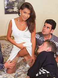 Zana Sun, The Horny Widow of the Steel King Has a Gangbang pictures