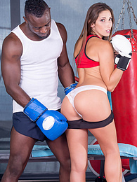 Clea Gaultier, Interracial Anal is her Way to Get in Shape pictures at find-best-hardcore.com