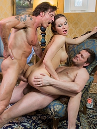 Hot Ashley is a russian slut who loves double penetration pictures at find-best-hardcore.com