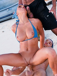 Amazing natural body girl double penetrated just by the sea pictures at dailyadult.info
