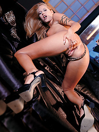 Cassandra Wild, blonde model in a Hardcore Private Casting pictures at kilogirls.com