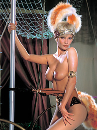 Grety, A Slutty Blonde Starlette From the Circus With Love pictures at find-best-lingerie.com